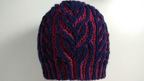 5551d671b88 Ravelry  Interweave hat pattern by Happy Knitter