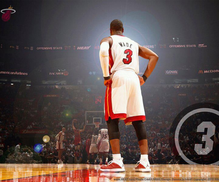 Hc84 Dwyane Wade Dunk Nba Flash Sports: Miami's Very Own...Dwyane Wade!!!