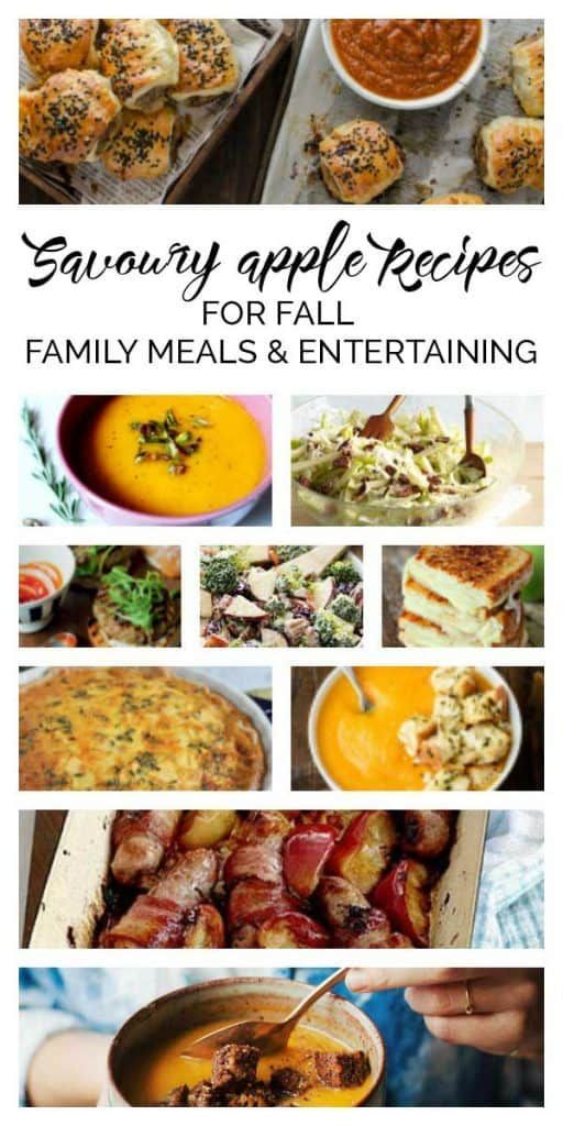 Savoury Apple Recipes for Fall Family Meals and Entertaining -  Apples aren't just for pie discover these delicious savoury apple recipes perfect for fall family - #apple #entertaining #Fall #fallwinterrecipes #family #meals #recipes #savoury