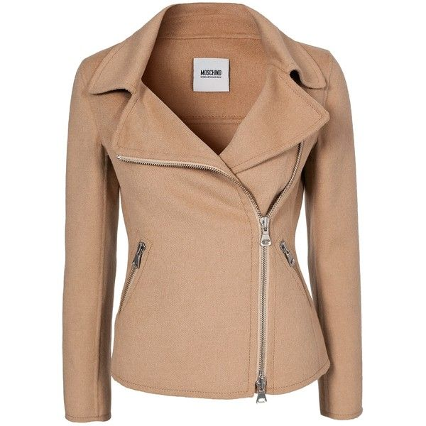 Moschino Cheap & Chic Sophia Jacket ($880) ❤ liked on Polyvore