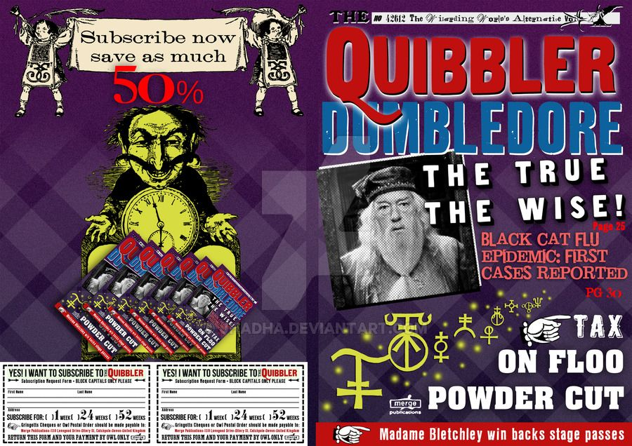 quibbler cover by jhadha.deviantart.com on @DeviantArt ...Quibbler Printable Free