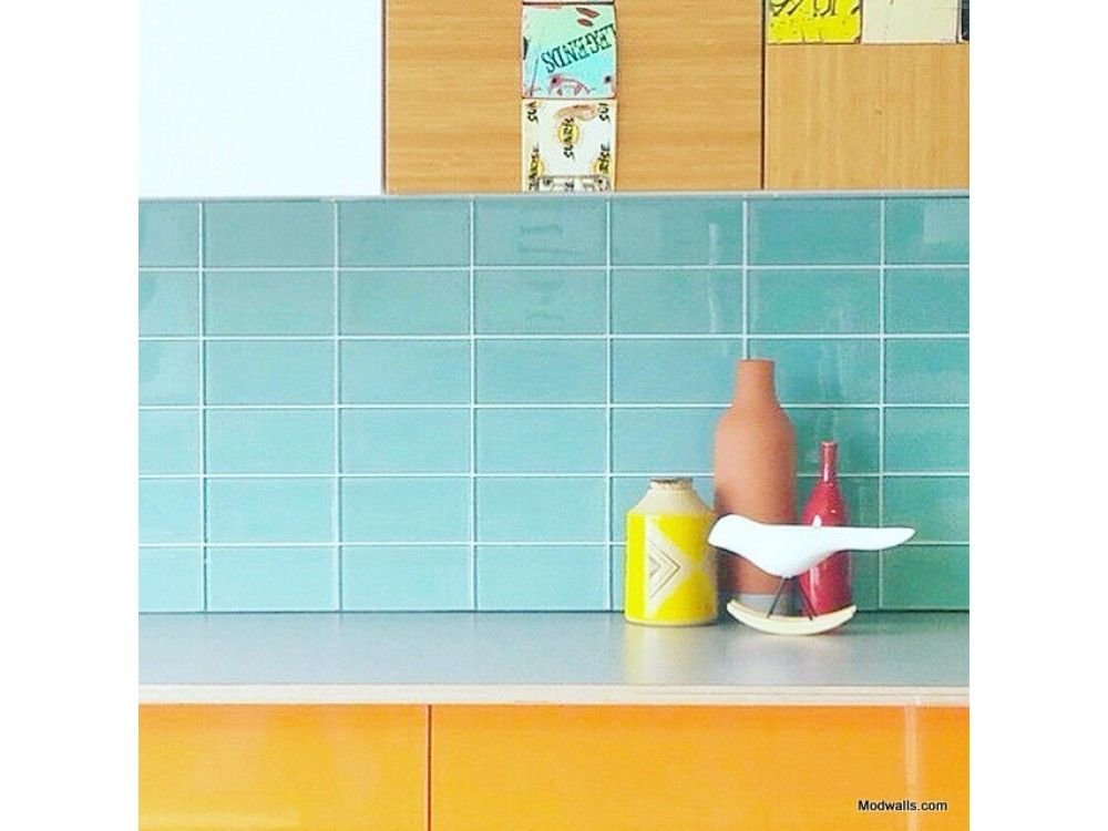 Lush Gl Subway Tile Pool 3x6 By Modwalls Company Online