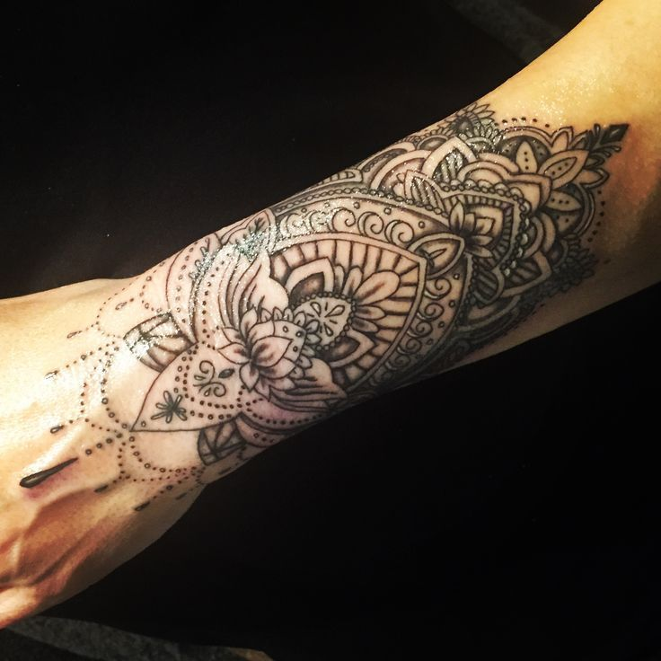 6 Sheets Wrist Body Art Henna Tattoo Stencil Flower: My Tattoos - #scars #tattoos