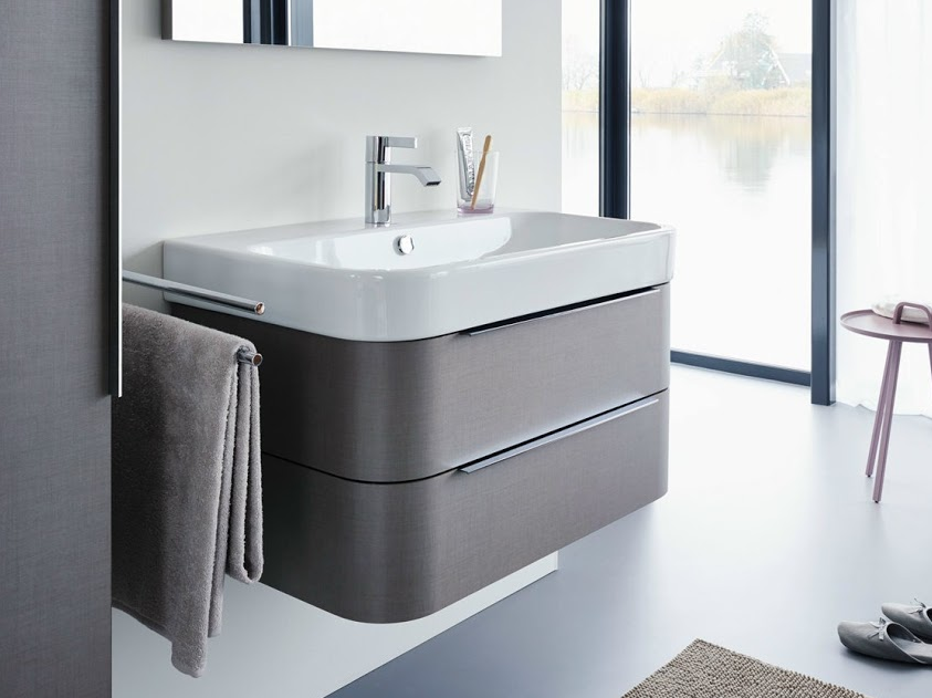 Mueble de baño Happy D bajo lavabo de Duravit | Muebles de ...