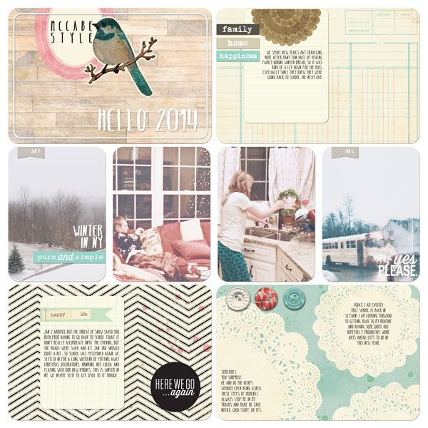 Digital Project Life | Maggie Holmes Mini Kit by JennMcCabe @Two Peas in a Bucket