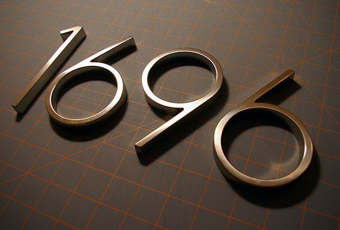 great finds modern house numbers on the cheap dress your nest pinterest house numbers. Black Bedroom Furniture Sets. Home Design Ideas