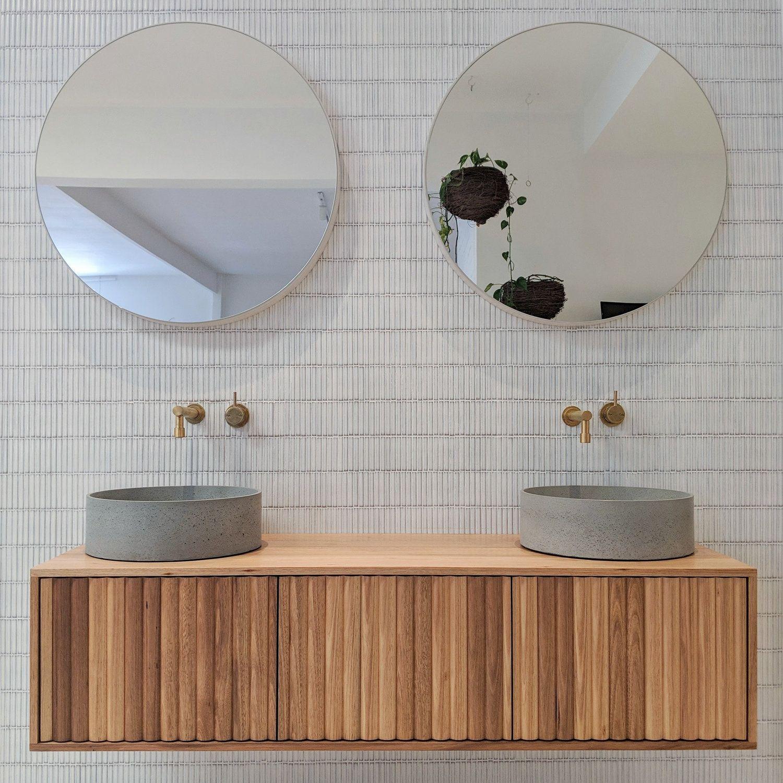 Derwent Bathroom Vanity Ingrain Unique Bathroom Vanity Timber Bathroom Vanities Oak Vanity Bathroom