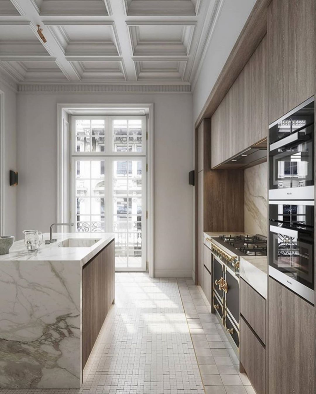 The Most Beautiful Kitchen By Goriyoon Architecture Via