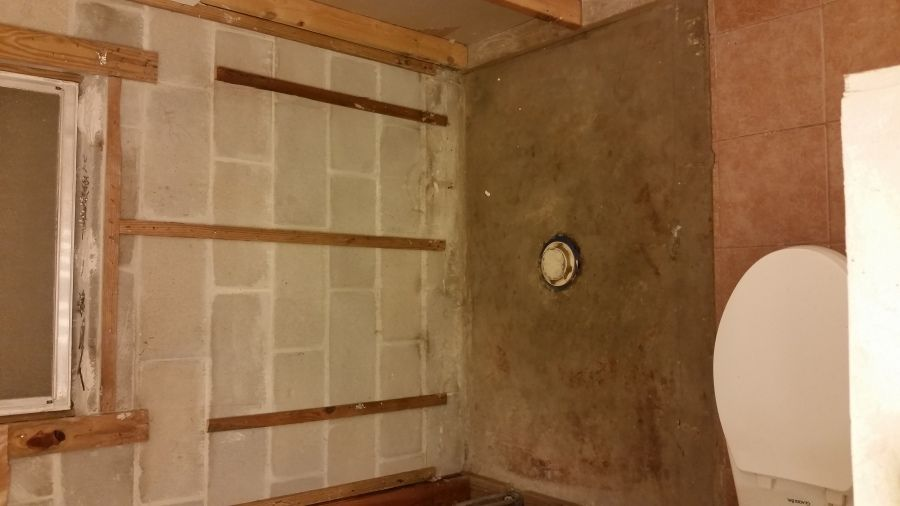 Wet And Moldy Basement Shower Remodel Questions Shower Remodel Building A Shower Pan Shower Pan