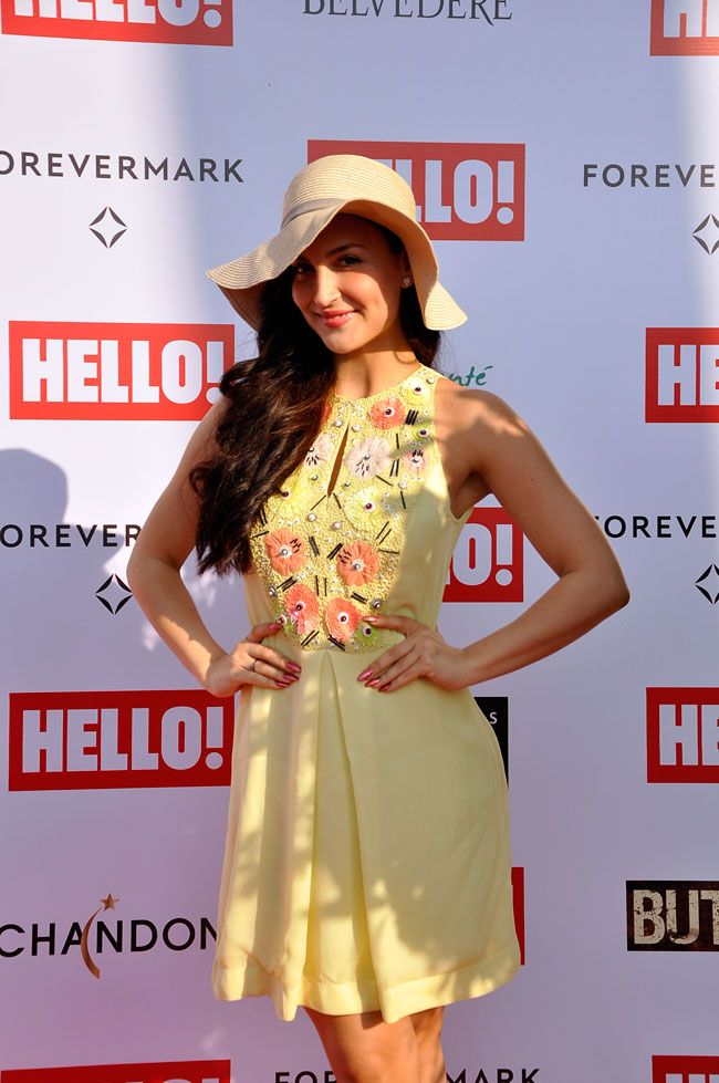 a0636fc151c Matter of hats  Bollywood babes and their derby outing. Elli Avram at a  derby.  Bollywood  Fashion  Style  Beauty