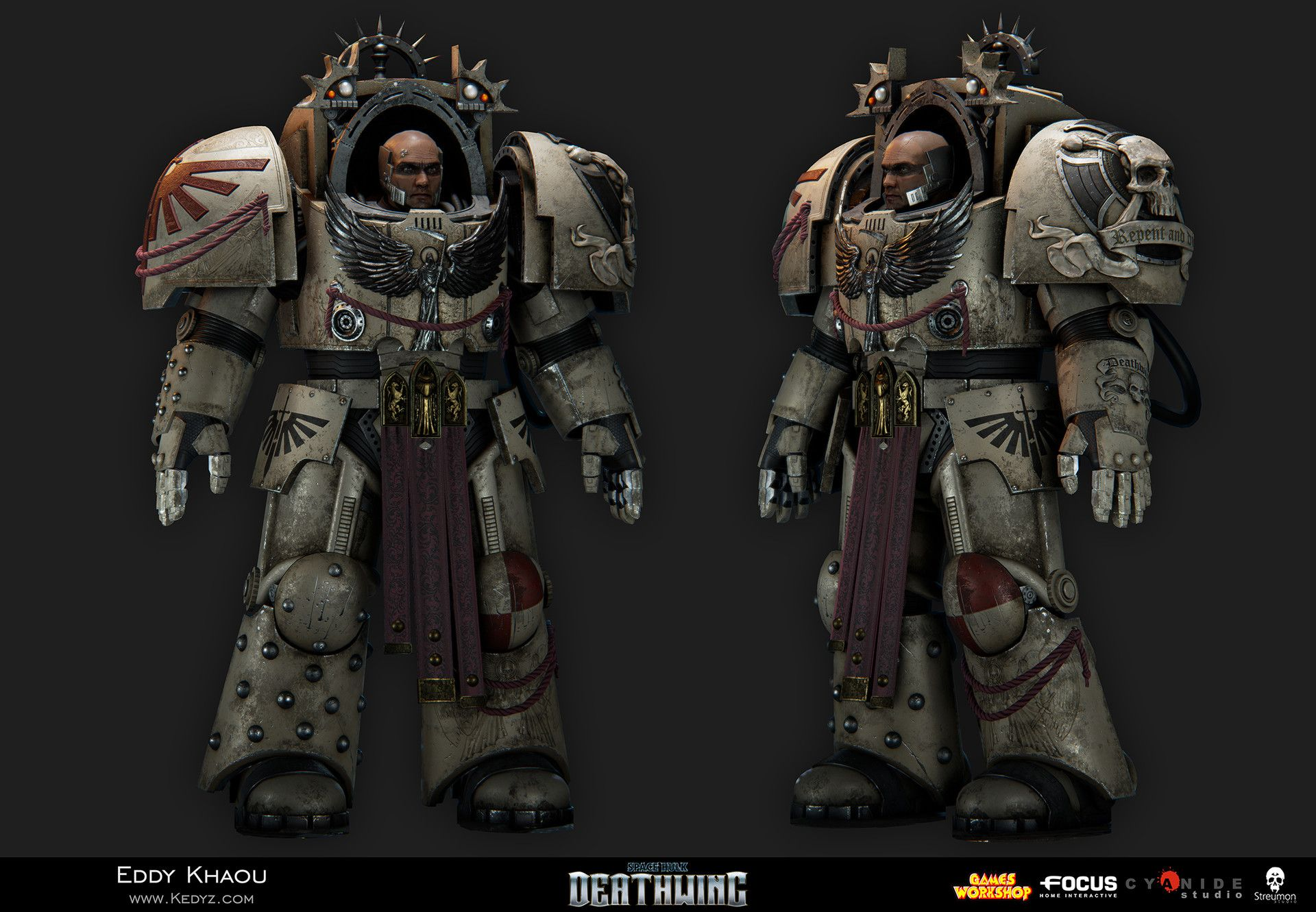 ArtStation - Space Hulk Deathwing - Terminator Assault, Eddy Khaou