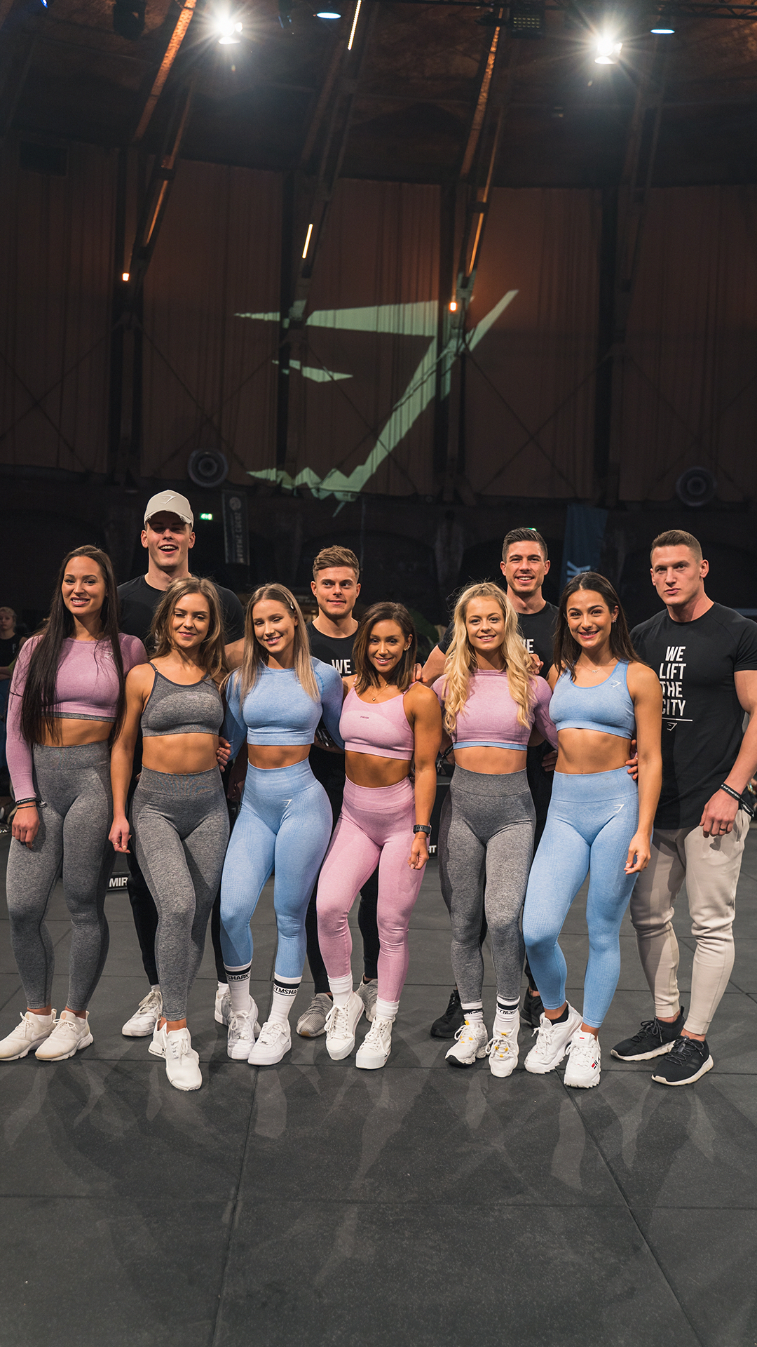 The Family The Athletes Seriously Turned Up For Lift Amsterdam Gymshark Gymsharkpopup Event Family Athlete Am Slim And Fit Fitness Wear Outfits Fitness