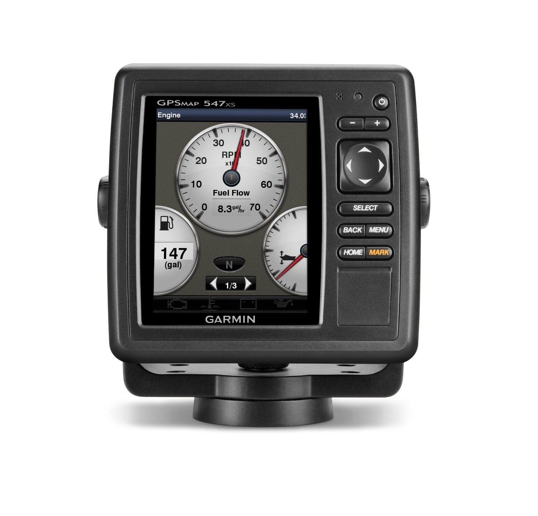 "Garmin GPSMAP 547xs 5"" 10Hz GPS Chartplotter/Sounder w"