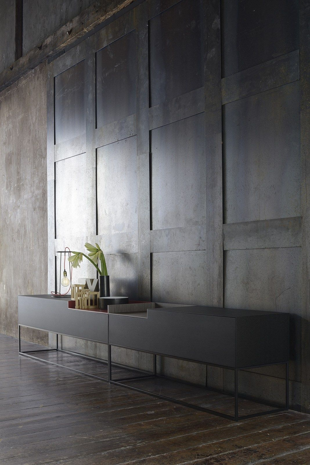 Lacquered Mdf Sideboard Inmotion Collection By Mdf Italia Design