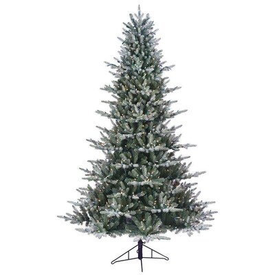 Ge 7 5 Ft Pre Lit Aspen Fir Artificial Christmas Tree With 700 Constant White Clear Incandescent Lights Lowes Com Artificial Christmas Tree Incandescent Lights Christmas Tree
