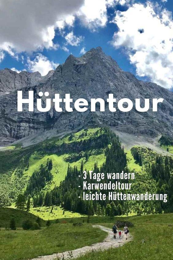 Photo of -> HÜTTENTOUR ALPEN BEGÄNGER – Karwendel tour without luggage