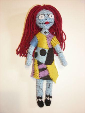 Nightmare Before Christmas Sally Amigurumi Halloween Crochet