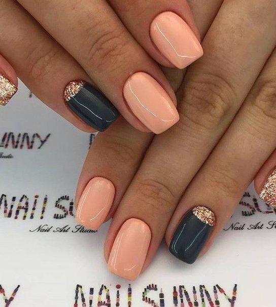 34 Wedding Nail Art Designs You Will Like Black Gel Nails Toe Nails Wedding Nail Art Design
