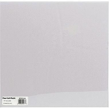 Grafix Craft Plastic Sheets 12 X 12 25 Pkg Clear 07 Staples Clear Plastic Sheets Plastic Sheets How To Make Stencils