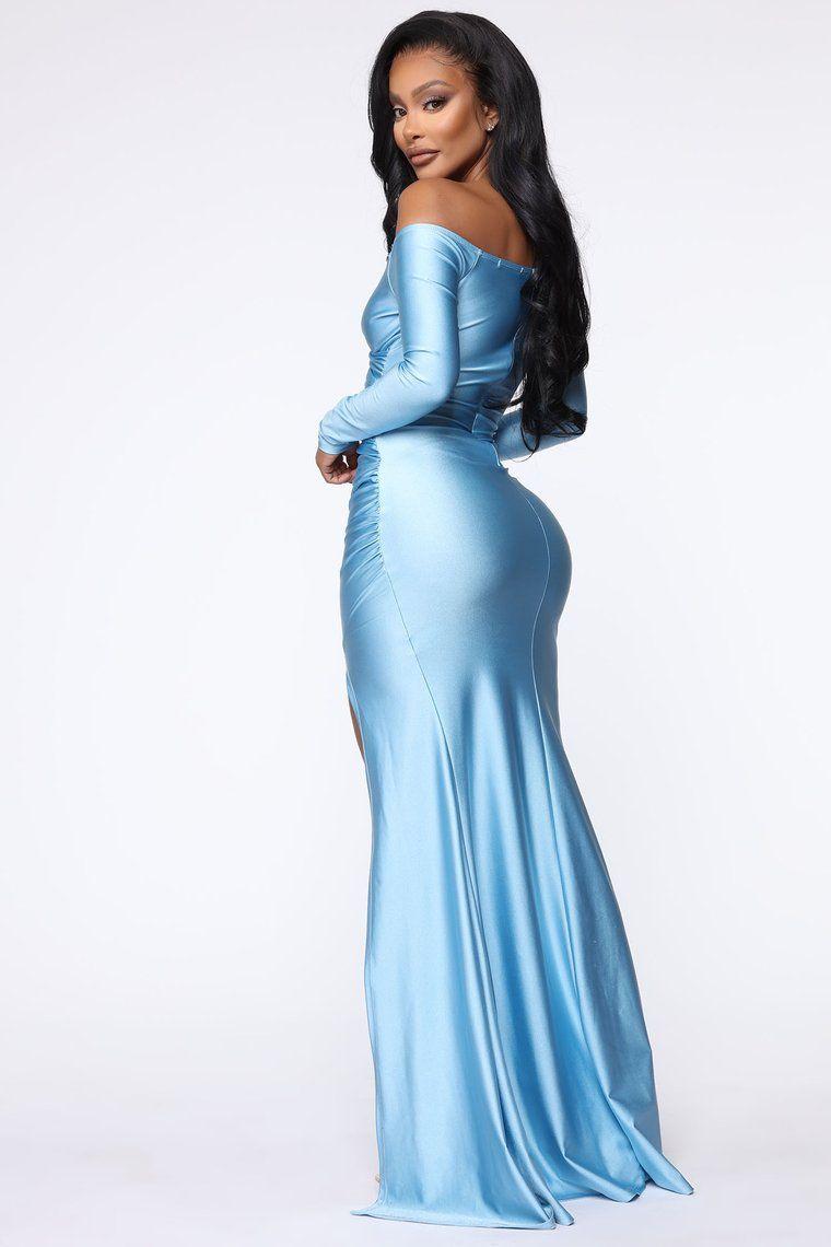I'm Entering A Room Maxi Dress Blue【2020】