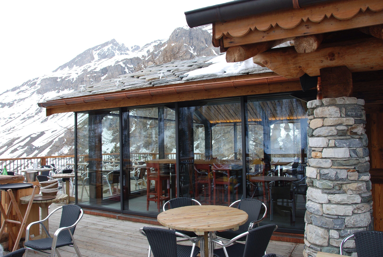 Architecte Jean Michel Villot Restaurant Edelweiss Val D Isere Realisation Covermetal Architecte Val D Isere Isere