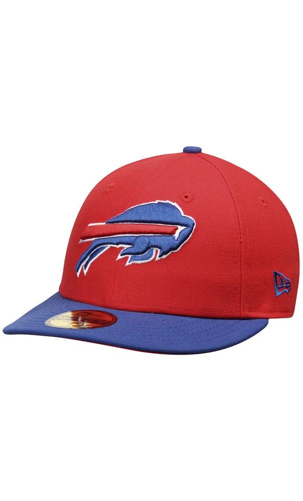 NFL Men s Buffalo Bills New Era Red Royal 2T Patched Low Profile 59FIFTY  Fitted Hat 9afc69861b8