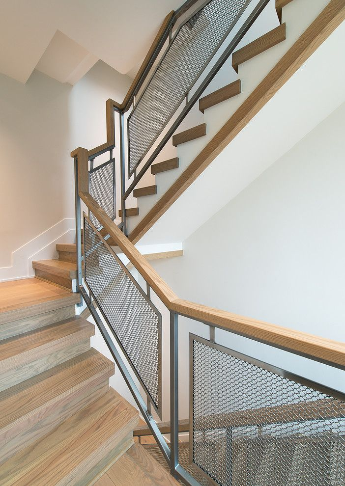 Metal Stair Railing Staircase Scandinavian With Industrial Handrail Light Handrail Metal Screen Railing Metal Stair Railing Handrail Lighting Metal Stairs