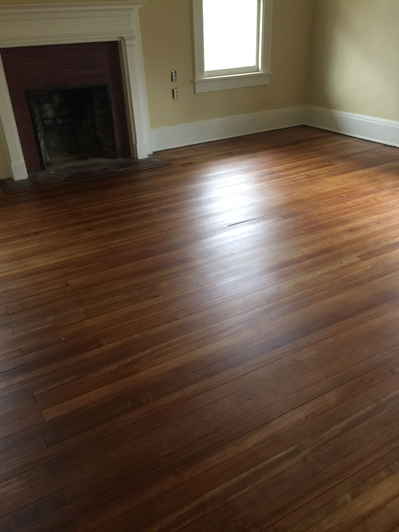 Wood Floor Stain Colors Before And After