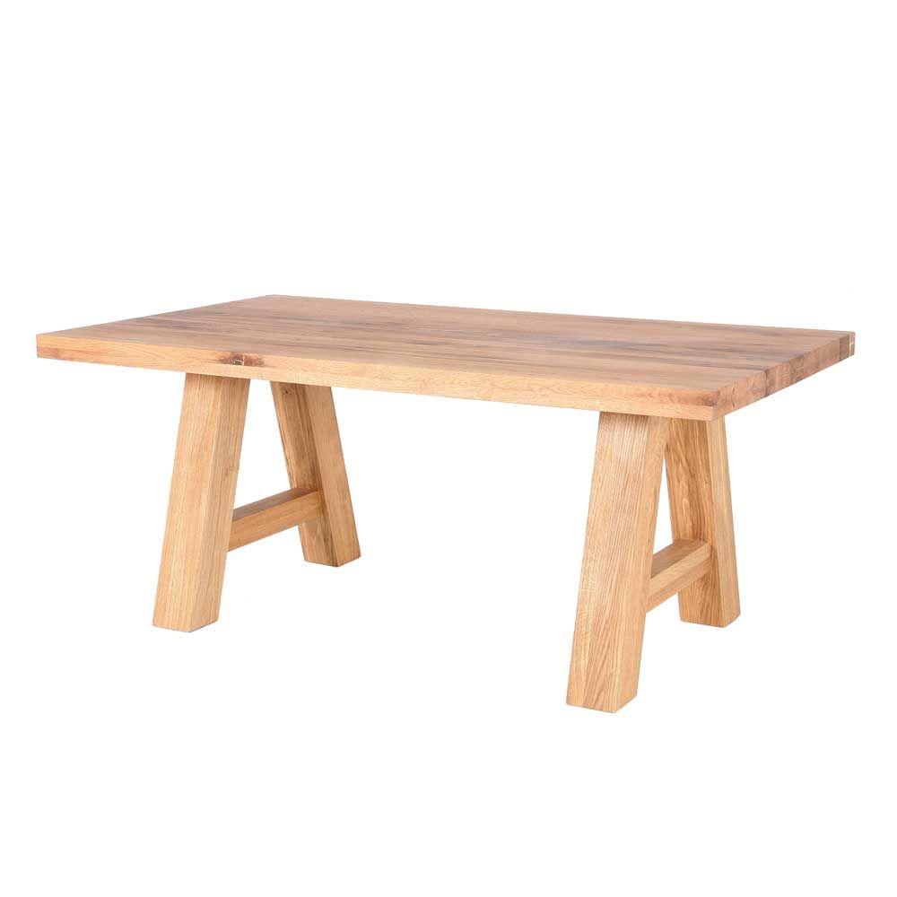 Tisch aus Balkeneiche geölt holztisch,massivholztisch,küchentisch ...