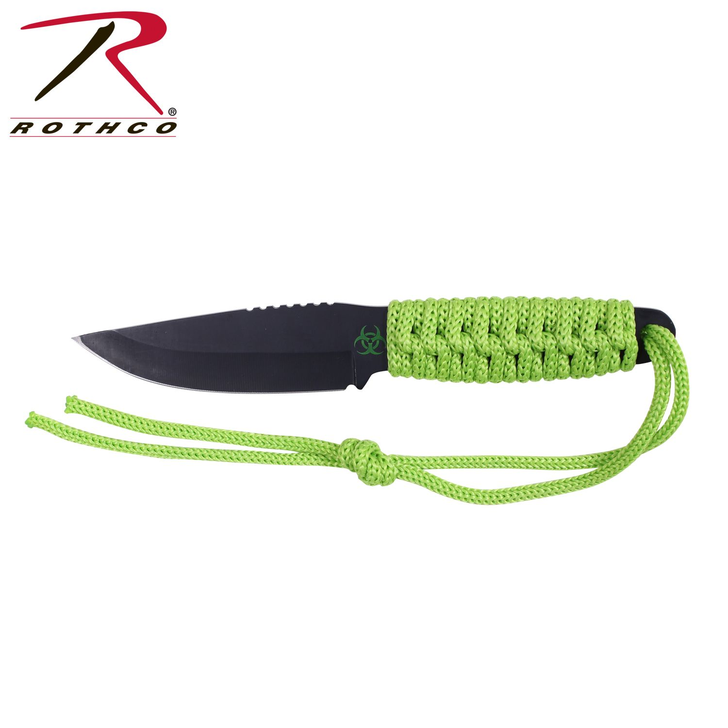 Rothco zombie paracord knife wfire starter zombies survival