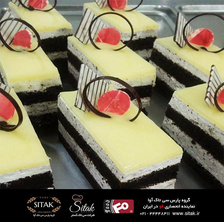 کیک یخچالی کرمفیل فوندانت عصاره مخمر پودر خامه سیروپ لوازم قنادی Desserts Mini Cheesecake Food