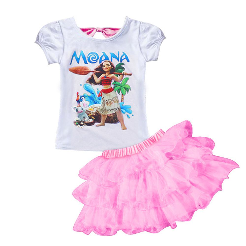 $9.39 (Buy here: https://alitems.com/g/1e8d114494ebda23ff8b16525dc3e8/?i=5&ulp=https%3A%2F%2Fwww.aliexpress.com%2Fitem%2F2017-New-Girls-Clothes-Children-Moana-Clothing-Sets-2pcs-Printed-T-Shirt-Floral-Tutu-Skirt-Princess%2F32785864642.html ) 2017 New Girls Clothes Children Moana Clothing Sets 2pcs Printed T-Shirt+Floral Tutu Skirt Princess Birthday Party Dance Costume for just $9.39