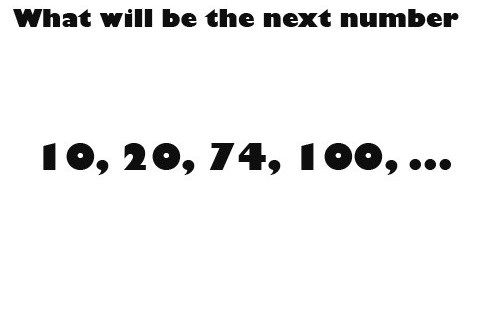 Number Series Completion Verbal Reasoning Test for you