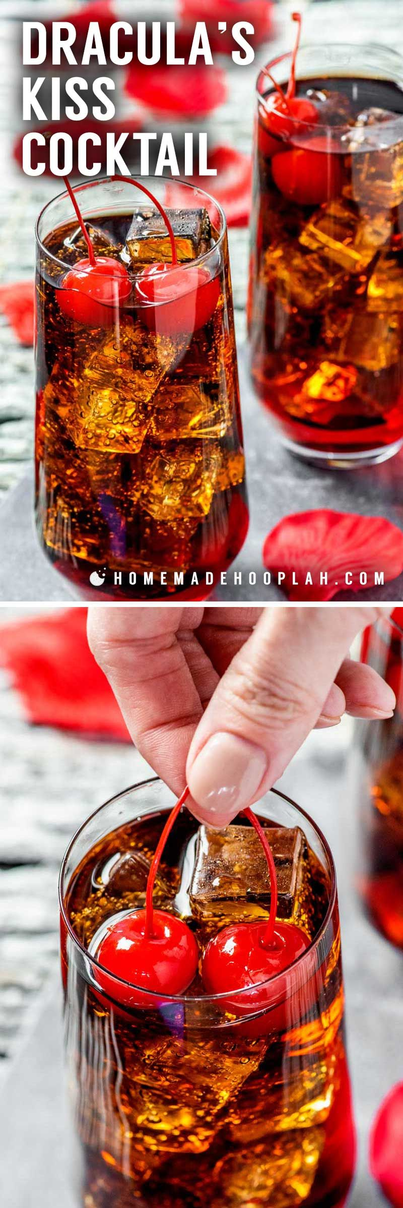 Dracula S Kiss Cocktail A Vampire Twist On A Classic Drink This Dracula S Kiss Is The Spoo Alcohol Drink Recipes Cherry Vodka Drinks Halloween Drinks Alcohol