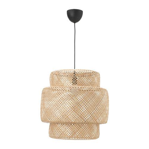IKEA - SINNERLIG, Taklampe, Hver håndlagede skjerm er unik.Gir et mykt lys som gjør hjemmet ditt varmt og innbydende.Gir både fokusert og spredt lys, og er godt egnet til å lyse opp spisebordet ditt.