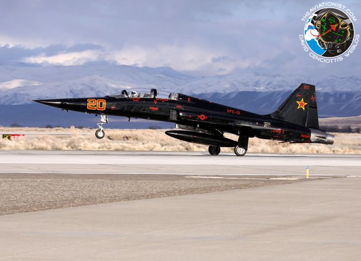 AF20. F5F. VFC13. NSAWC NAS Fallon 03.02.2014 クルーズ, ジェット