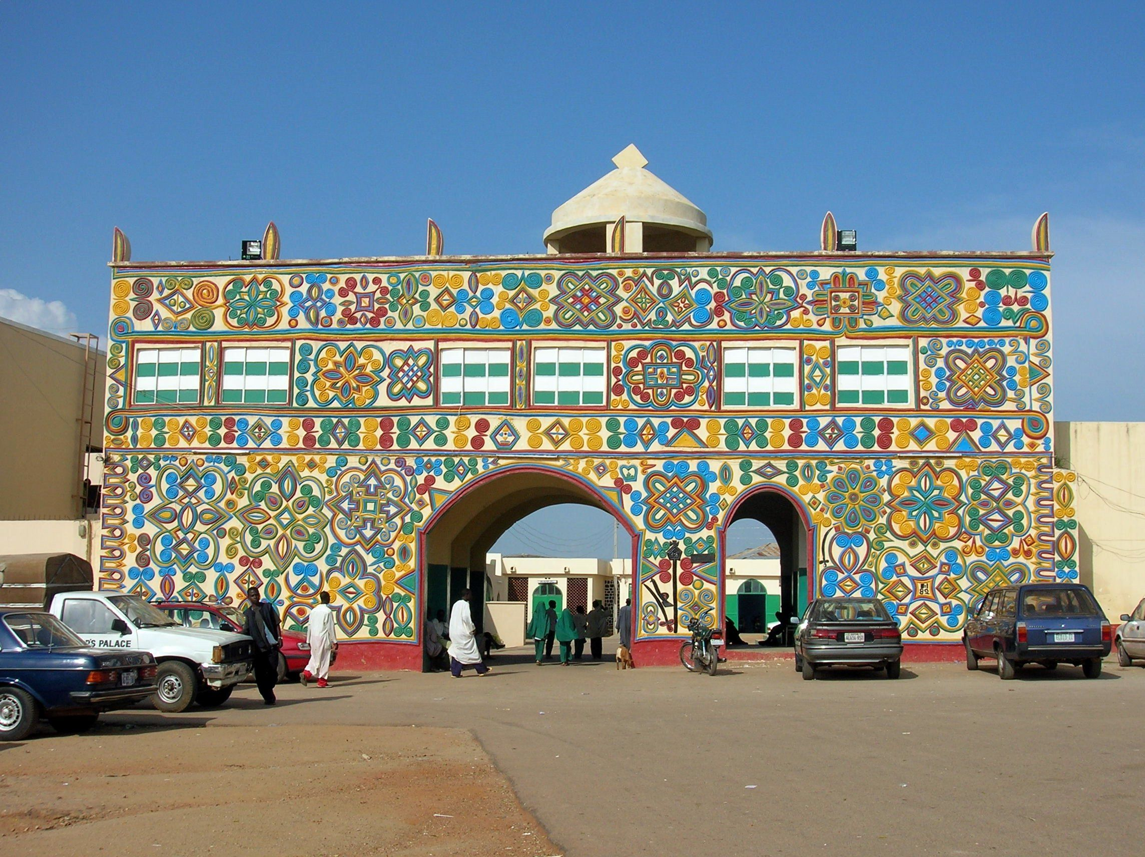 Kanogate gate to the palace of the emir of zazzau zaria a major city in kaduna state in northern nigeria wikipedia the free encyclopedia