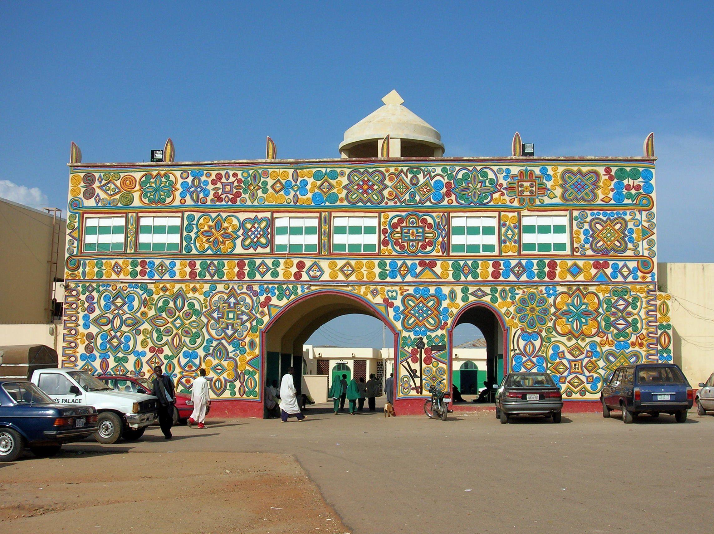 Kanogate gate to the palace of the emir of zazzau zaria a major city in kaduna state in northern nigeria wikipedia the free encyclopedia