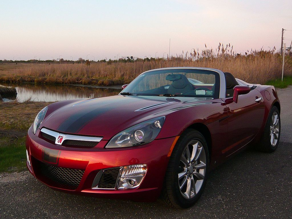 Ruby Red Sky Saturn sky, Saturn car