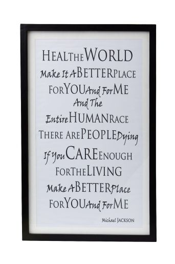 Michael Jackson Quote In A Frame With Images Michael Jackson Quotes Mj Quotes Michael Jackson Party