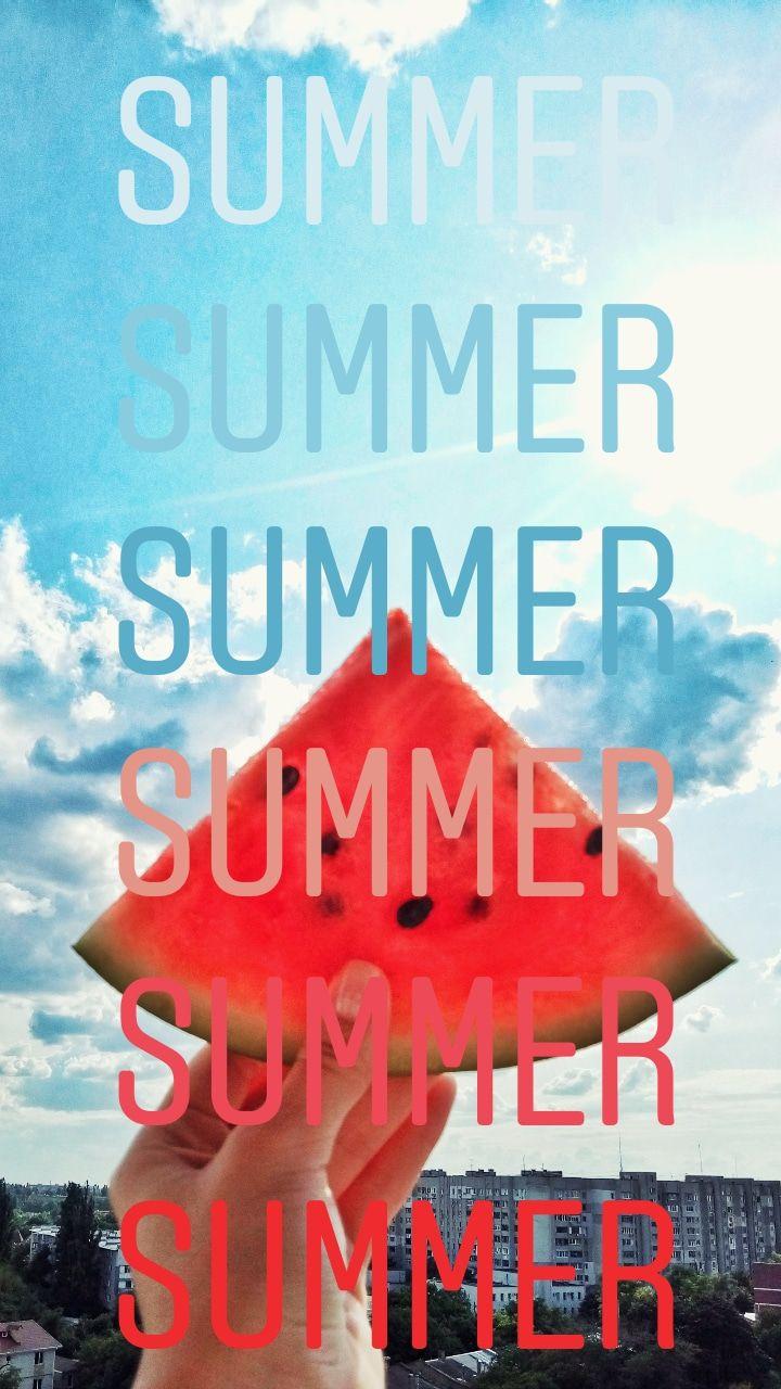 Summertime ,фото с арбузом   Инстаграм