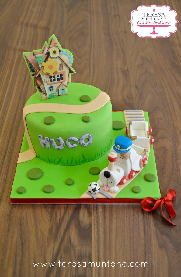 Tarta Tickety Toc Dorty Pinterest Cake