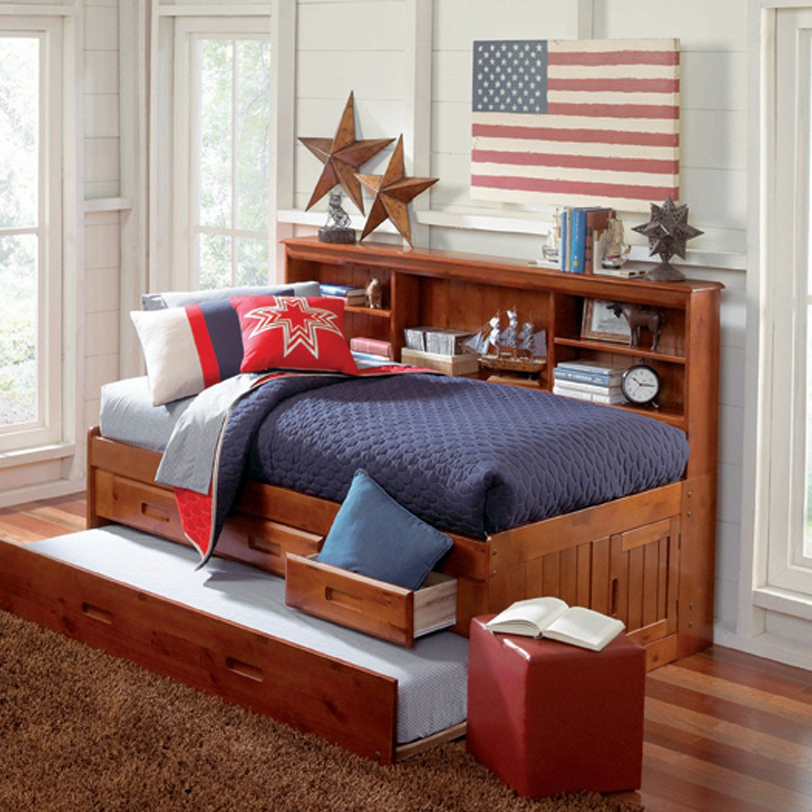 American Furniture Classics Daybed with 3 Drawers and