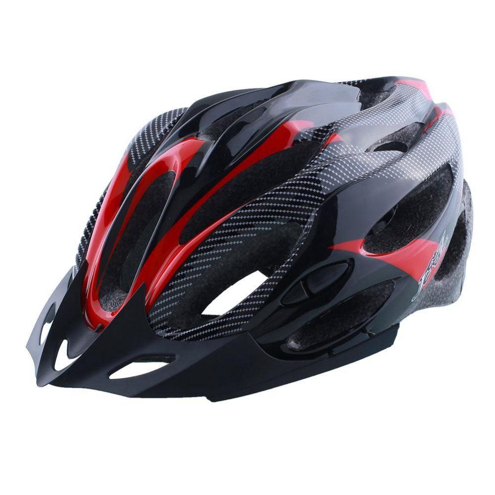 Radfahren Helm Einstellbar Fahrrad Rennrad Berg Sicherheit Unisex Stoßfest ultraleicht mit Visier Rot/Gelb/Blau