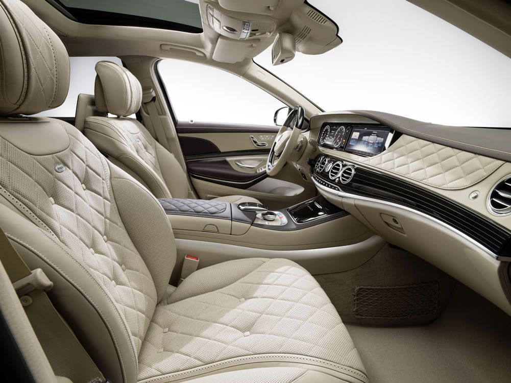 2016 Mercedes S Cl Interior Good For Short Drivers Look At That Leather