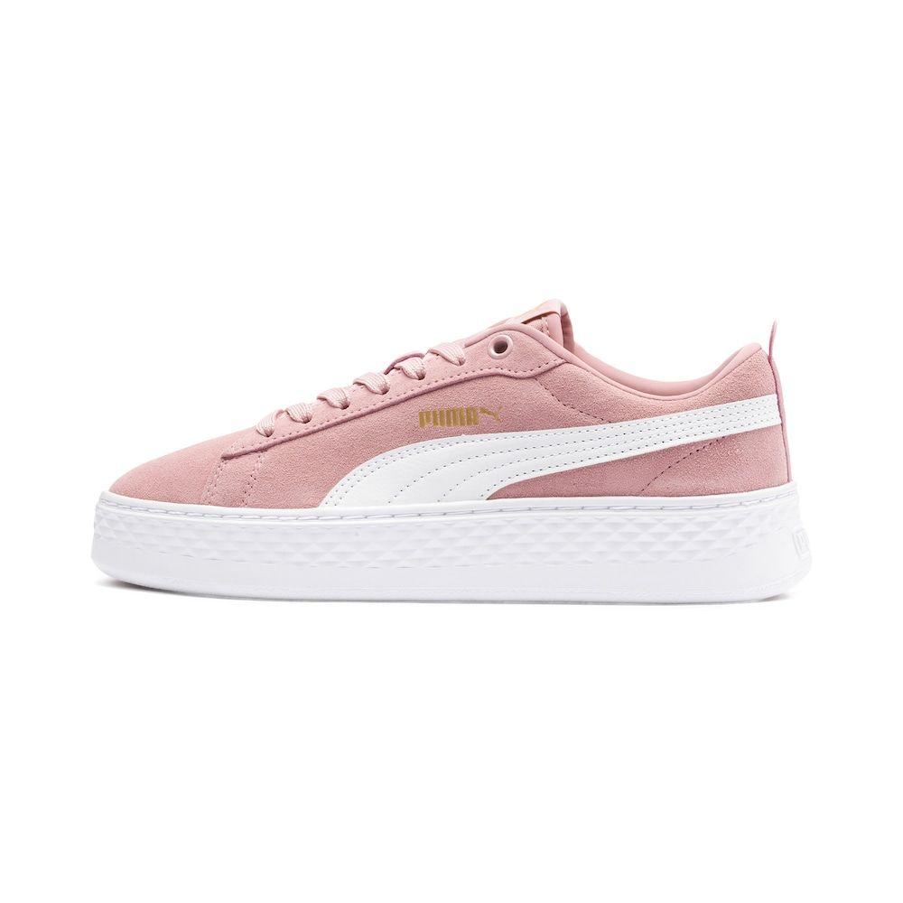 Puma Sneaker Smash Damen Altrosa Weiss Grosse 41 Puma Sneaker Schuhe Damen Schuhe Frauen