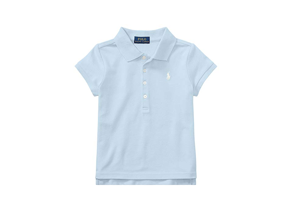 ddc921d1f560dd Polo Ralph Lauren Kids Short Sleeve Mesh Polo Shirt (Little Kids) (Elite  Blue) Girl s Short Sleeve Knit. Let them kick it star-player style in this  sweet ...