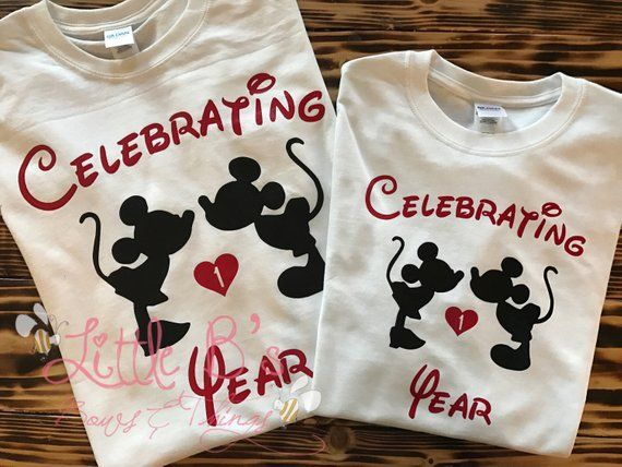 Gifts 25th Wedding Anniversary Couple: Disney Anniversary Shirts