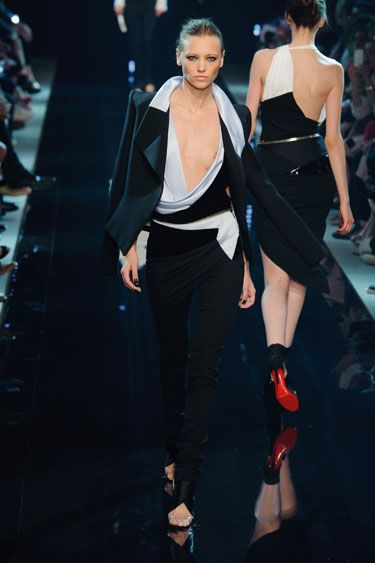 Fall 2013 Couture Fashion Shows - Couture Fashion from Fall 2013 Paris - Clothes that aren't really there -