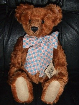 Teddy Bear by Shirley Meyer LTD Edition Rusty # 1/2 RARE // photo via Ebay
